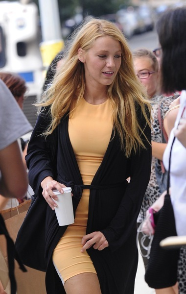 Blake Lively in a sweater