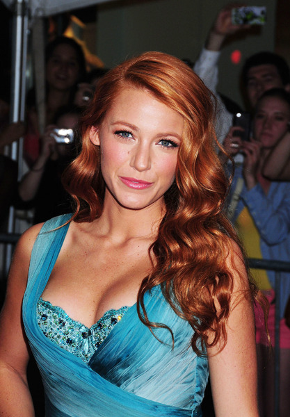 Blake Lively's ginger locks