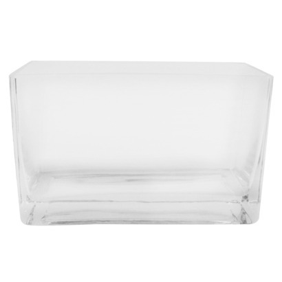 Modern Square Glass Vase - 5""