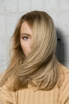 Blond hair - Long with smooth layers