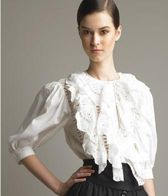 Bluemarine Lace Blouse