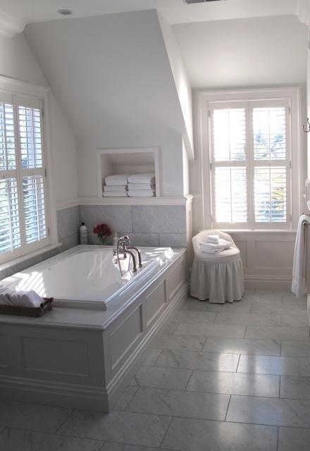 Jane Green's relaxing bath
