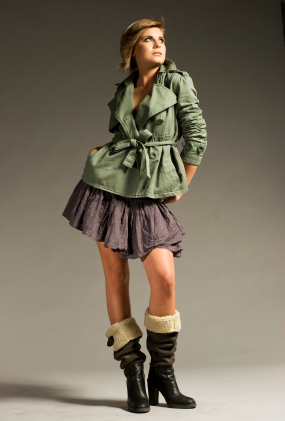 Wool lined boots