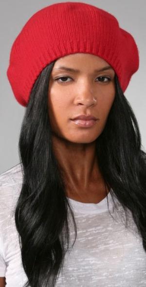 Bob Basics cashmere beret