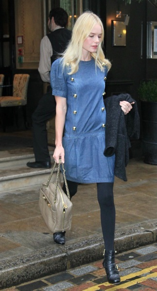 Kate Bosworth in ankle boots