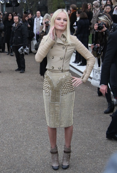 Kate Bosworth in a studded skirt