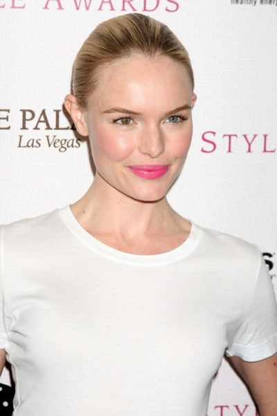 Kate Bosworth with pink lips