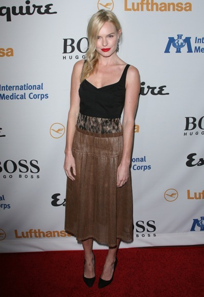 Kate Bosworth in animal print