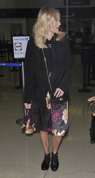 Kate Bosworth with a crossbody purse