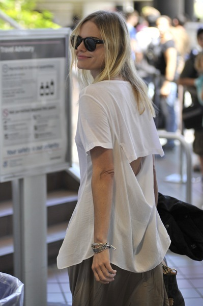 Kate Bosworth's casual style