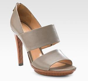 Bottega Veneta Double-Band Sandals