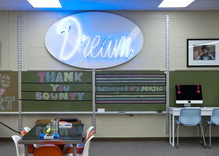 A classroom in Orlando