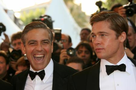 Brad Pitt George Clooney. George Clooney amp; Brad Pitt