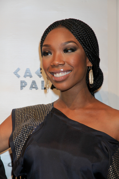 Brandy&#039;s braided, updo hairstyle