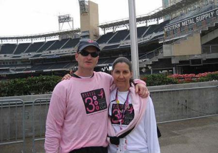 Breast cancer survivor Lee Giller