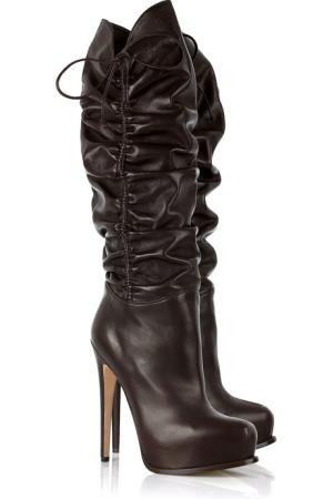 "Brian Atwood ""Matrix"" leather boot"