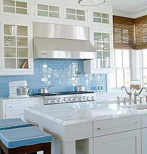 Pop of Color - Bright Kitchens