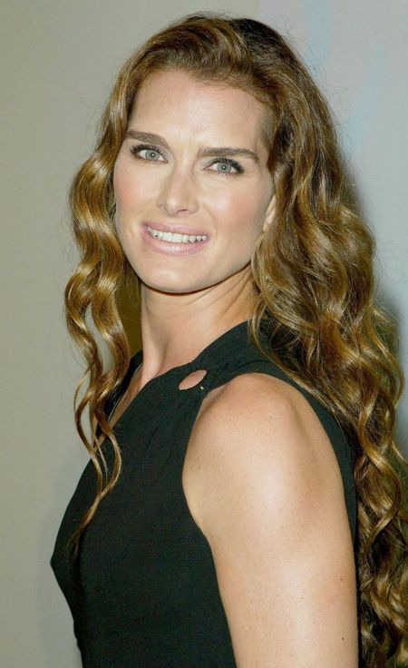 Brooke Shields, grown up