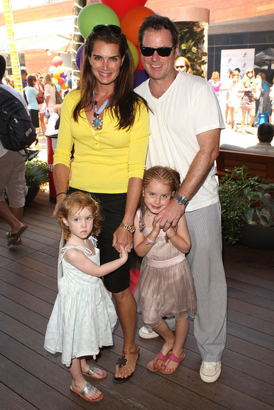Brooke Shields family