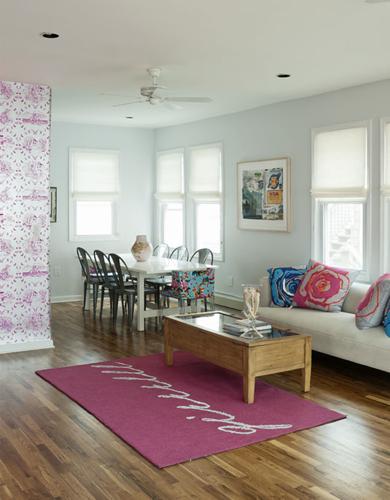 Brooklyn Beach House - Living Room
