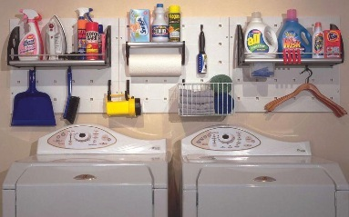 Small laundry room organization for pinterest - Laundry room organizing ideas ...