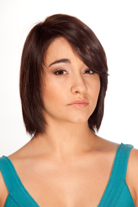 Brown hair - Layered bob