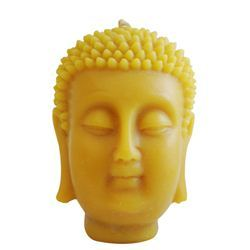 Beeswax Buddha candles