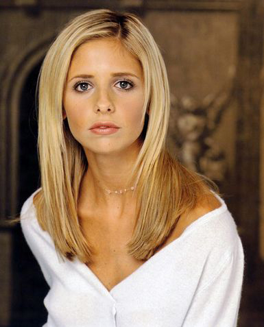 Sarah Michelle Gellar as Buffy Summers in Buffy the Vampire Slayer