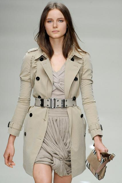 Burberry Prorsum Women's Flirty Trench Coat
