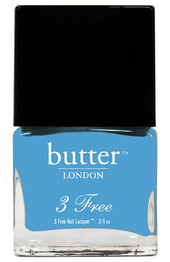 Blue up your nails with this Butter Nail Lacquer in Artful Dodger.