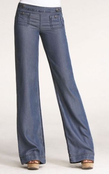 Boho-Chic Wide Leg Jean