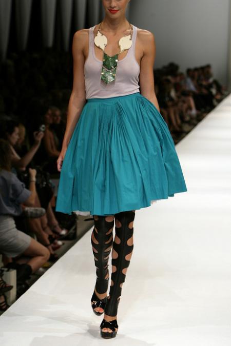By Malene Birger Pleated Skirt