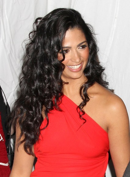 Camila Alves&#039; curly, long hairstyle