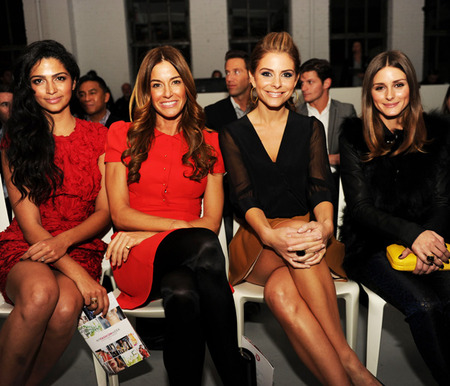 Celebs at the QVC Fashion Show party