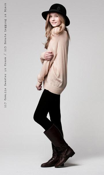 Camilla Sweater and Dakota Legging