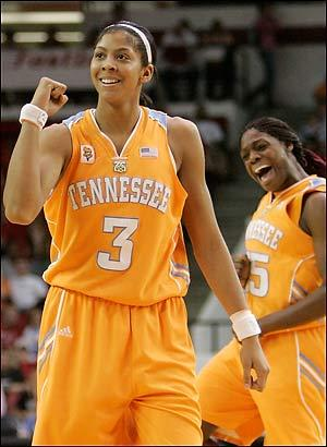 Candace Parker Plays at Tennessee