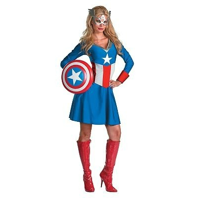 Women's Captain America™ Costume