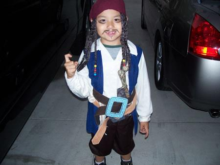 Captain Sebastian Sparrow