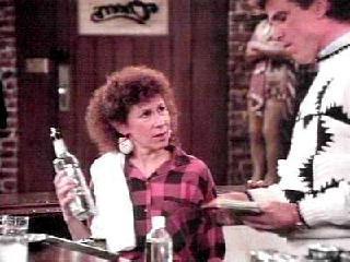Rhea Perlman as Carla Tortelli in Cheers
