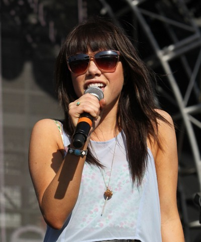Carly Rae Jepsen performs in California