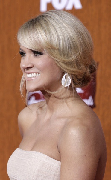 Carrie Underwood's up-do