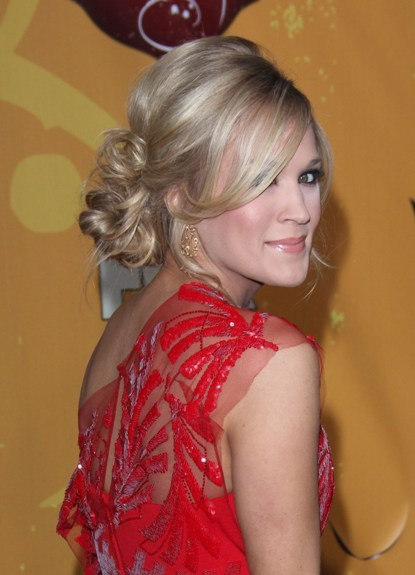 Carrie Underwood's Chic Chignon