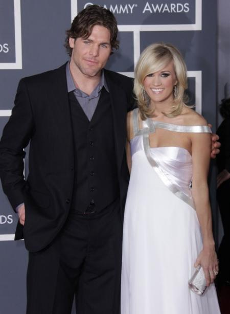 Carrie Underwood and Mark Fisher