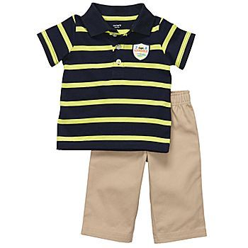 Polo pant set