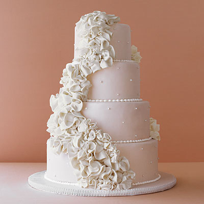 Cascading cake detail