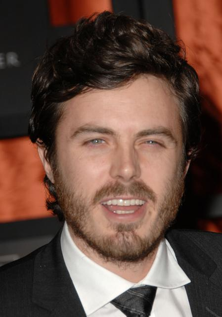 Casey Affleck didn't shave before this photo