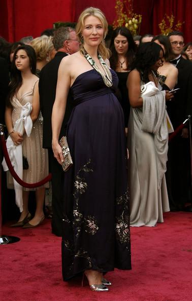 Cate Blanchett Baby Bump