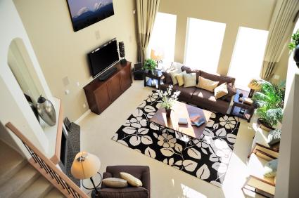 Cathedral Ceilings & Neutral Colors