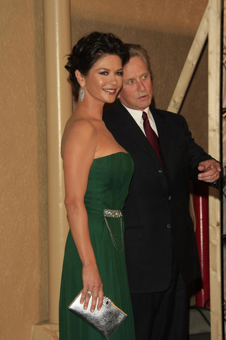 Catherine Zeta-Jones & Michael Douglas (2007)