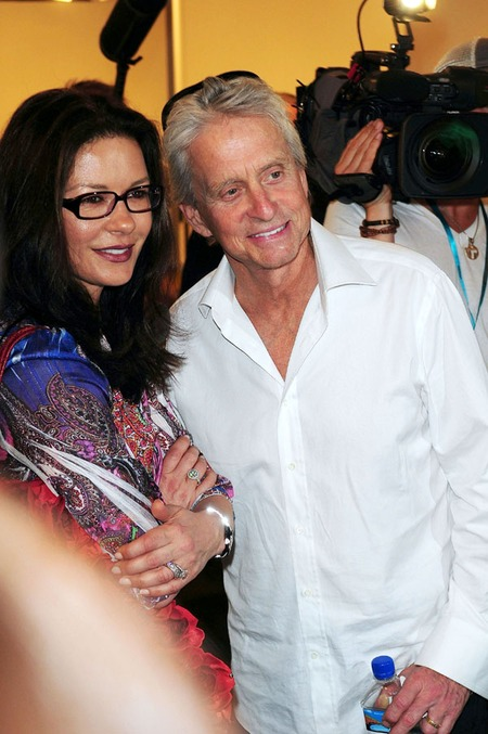 Catherine Zeta-Jones & Michael Douglas (2011)